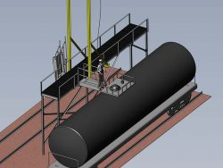 Rigid-Rail-and-Access-Platform-Railway