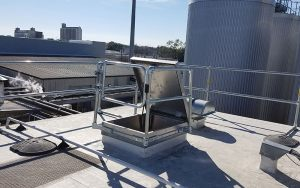 Roof Safety Railing